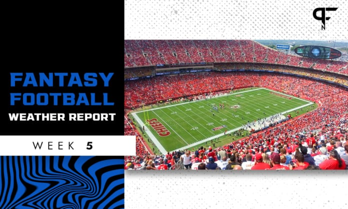 NFL Weather Report and Forecast Week 5: A washout in Kansas City?