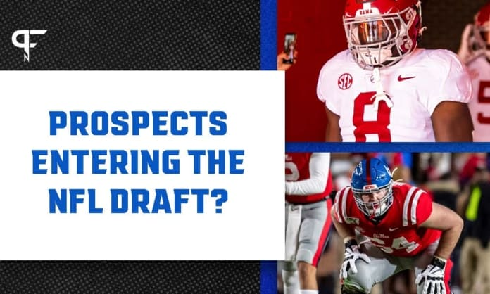 Ole Miss vs. Alabama At least two underclassmen committed to the draft