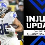 QB and TE Fantasy Injury Report Week 6: Can we trust Tua Tagovailoa and T.J. Hockenson?