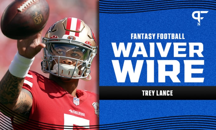 Trey Lance Waiver Wire Week 6: Fantasy outlook for the 49ers rookie and Jimmy Garoppolo