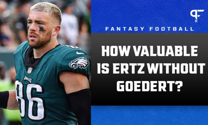 Zach Ertz Start/Sit Week 6: How valuable is he without Dallas Goedert?