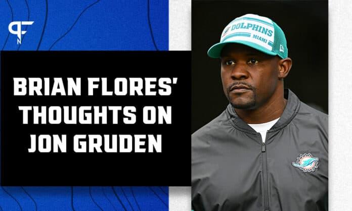 Miami Dolphins coach Brian Flores on Jon Gruden:
