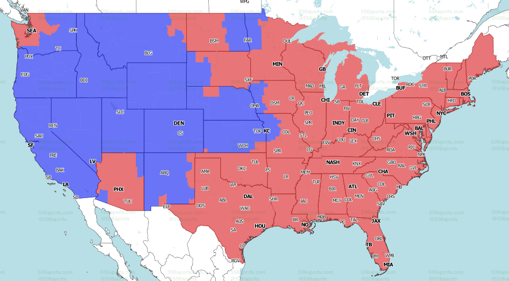 CBS early coverage for Week 6
