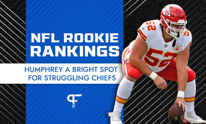 NFL Rookie Rankings Week 6: Parsons remains solid, Humphrey and Chase continue climbing