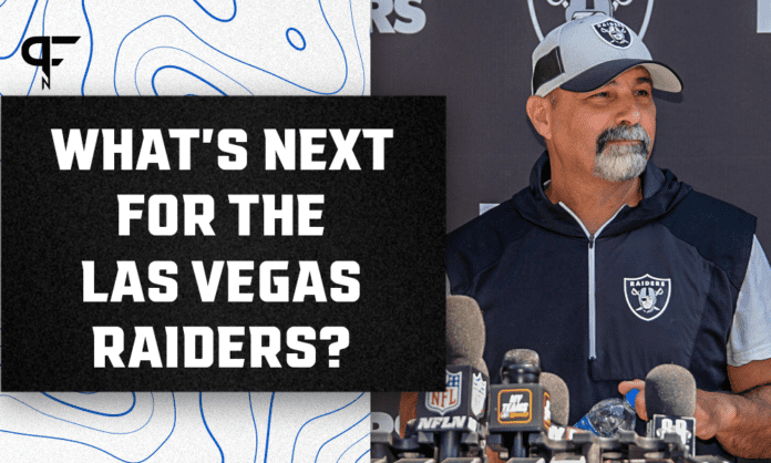 Rich Bisaccia's Las Vegas Raiders say their goals are all still alive -- and they're right